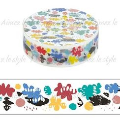 Aimez le style - Aimez le style Masking Tape Primaute Regular Happy Cloud