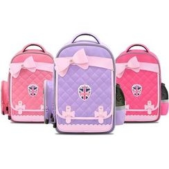 Kocotree - Kids Bow Accent Quilted Backpack