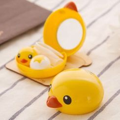 Home Simply - Contact Lens Case Kit (Duck)
