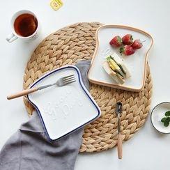 Kawa Simaya - Lettering Toast Plate