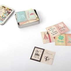 LIFE STORY - 'Daily Like' Series Paper Sticker Set (108 pcs)
