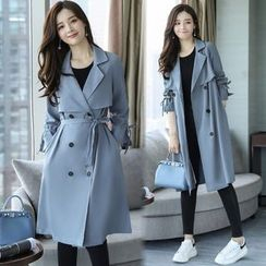 Eferu - Plain Trench Coat