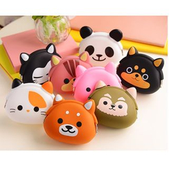 School Time - Animal Silicon Coin Purse