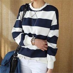 CHICFOX - Striped Sweatshirt