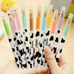 Class 302 - Milk Cow Print Gel Pen (One Set)