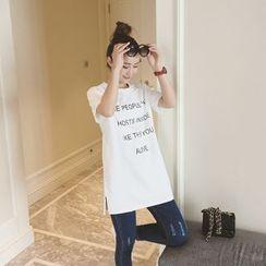 Small Mosquitoes - 短袖印字裙衣