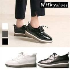 Wifky - Wing-Tip Patent Oxfords