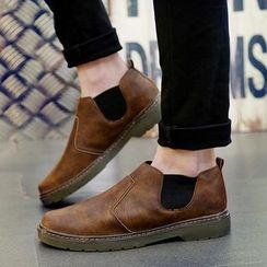 Chariot - Paneled Loafers