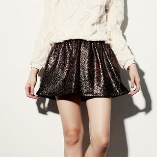 Tokyo Fashion - Tweed A-Line Skirt