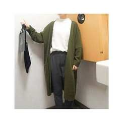 MATO - Plain Long Cardigan