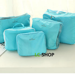 Lazy Corner - Set of 5: Travel Packing Cubes