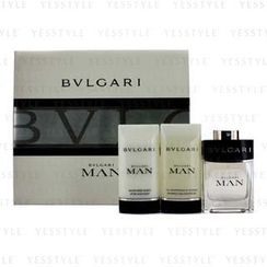 Bvlgari - Man Coffret:Eau De Toilette Spray 60ml/2oz + After Shave Balm 75ml/2.5oz + Shampoo and Shower Gel 75ml/2.5oz