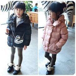 Rakkaus - Kids Hooded Padded Zip Coat