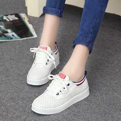 Tania - Perforated Sneakers