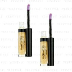 Max Factor 蜜丝佛陀 - Vibrant Curve Effect Lip Gloss - # 02 Sparkling (Duo Pack)