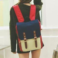 Youme - 饰扣背包
