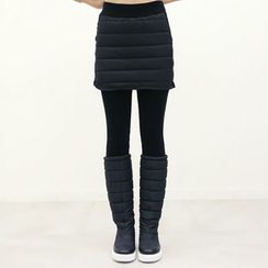 DANI LOVE - Inset Padded Skirt Leggings