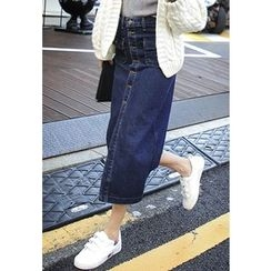 REDOPIN - Denim Washed Skirt