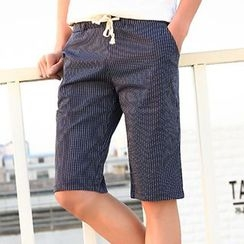 Evzen - Striped Shorts