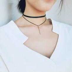 Jael - 垂饰贴脖项链