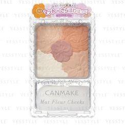 Canmake - Mat Fleur Cheeks (#03 Matte Marmalade)