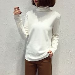 A7 SEVEN - Turtleneck Long-Sleeve T-shirt