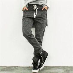 GLAM12 - Fleece-Lined Sweat Pants