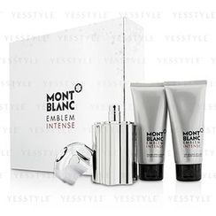 Mont Blanc - Emblem Intense Coffret: Eau De Toilette Spray 100ml/3.3oz + Shower Gel 100ml/3.3oz + After Shave Balm 100ml/3.3oz