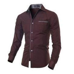 Hansel - Piped Long-Sleeve Shirt