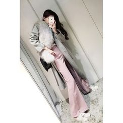 ATTYSTORY - Wool Blend Long Coat