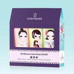 cosmetea - Tea Flower Hand Cream Set 3pcs