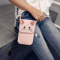 Seok - Cat Crossbody Mobile Pouch
