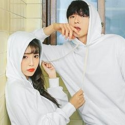 MEOSIDDA - Couple Hooded Colored Pullover