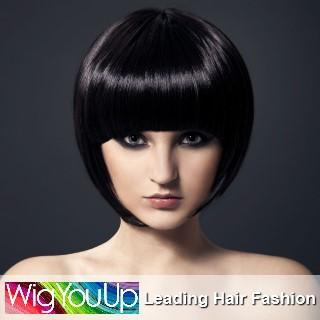 WigYouUp - Bob Short Full Wig - Straight