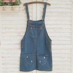 Usagi - Denim Jumper Skirt