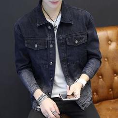 T for TOP - Gradient Denim Jacket