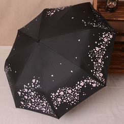 Easily - Cherry Blossom Automatic Compact Umbrella