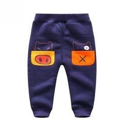 Endymion - Kids Pig Print Jogger Pants