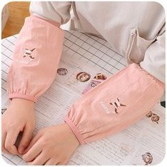 Momoi - Embroidered Sleeve Guards