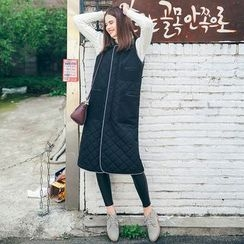 MOFFI - Quilted Long Vest