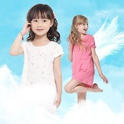 Aquafaba - Kids Short-Sleeve Pajama Dress