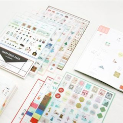 OH.LEELY - Transparent Diary Stickers