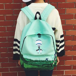 Youme - Embroidered Backpack