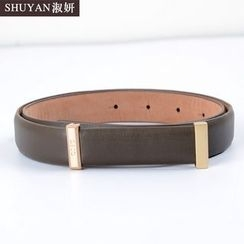 Aision - Faux-Leather Belt