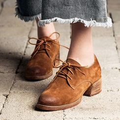 MIAOLV - Chunky Heel Oxfords