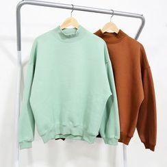 Mr. Cai - Long-Sleeve Turtleneck T-Shirt