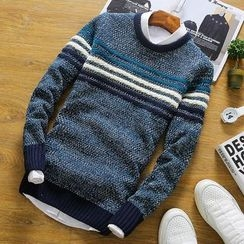 RIVOLO - Striped Sweater