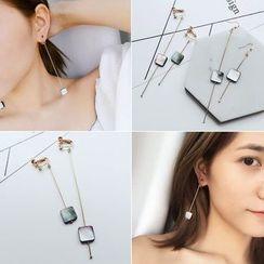 Taimi - Geometric Single Earrings