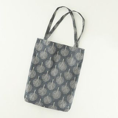 Meimei - Print Canvas Shopper Bag