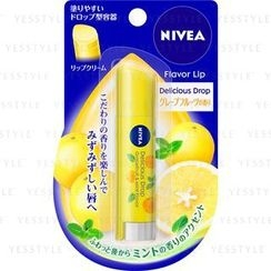 NIVEA - Flavor Lip Delicious Drop (Grapefruit & Mint Flavor)